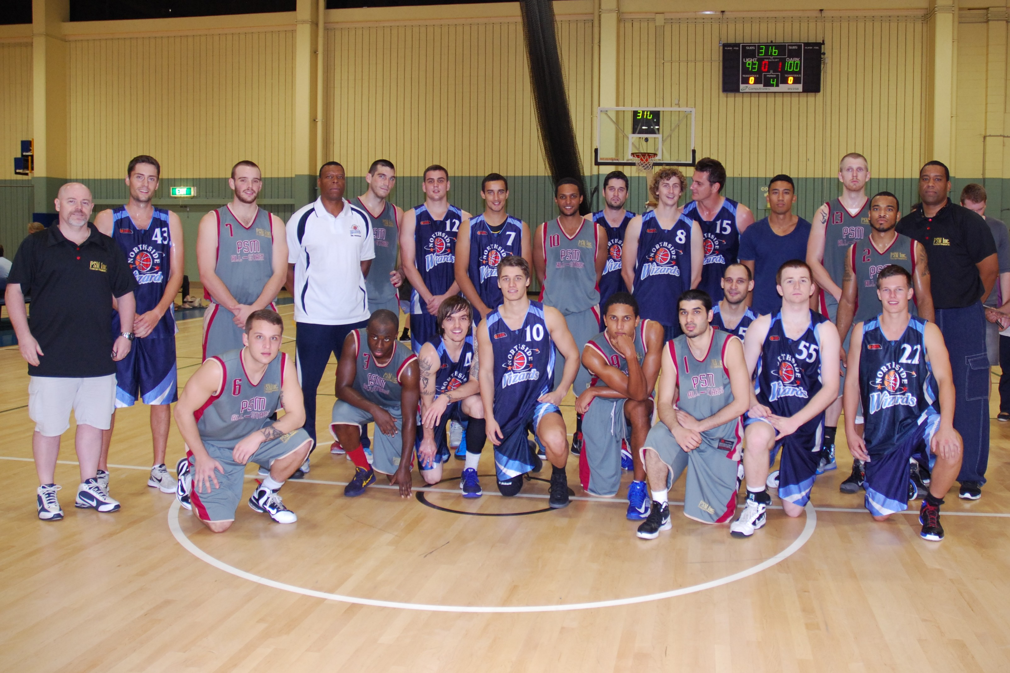 2013 Australia Summer League & Northside Wizards Teams
