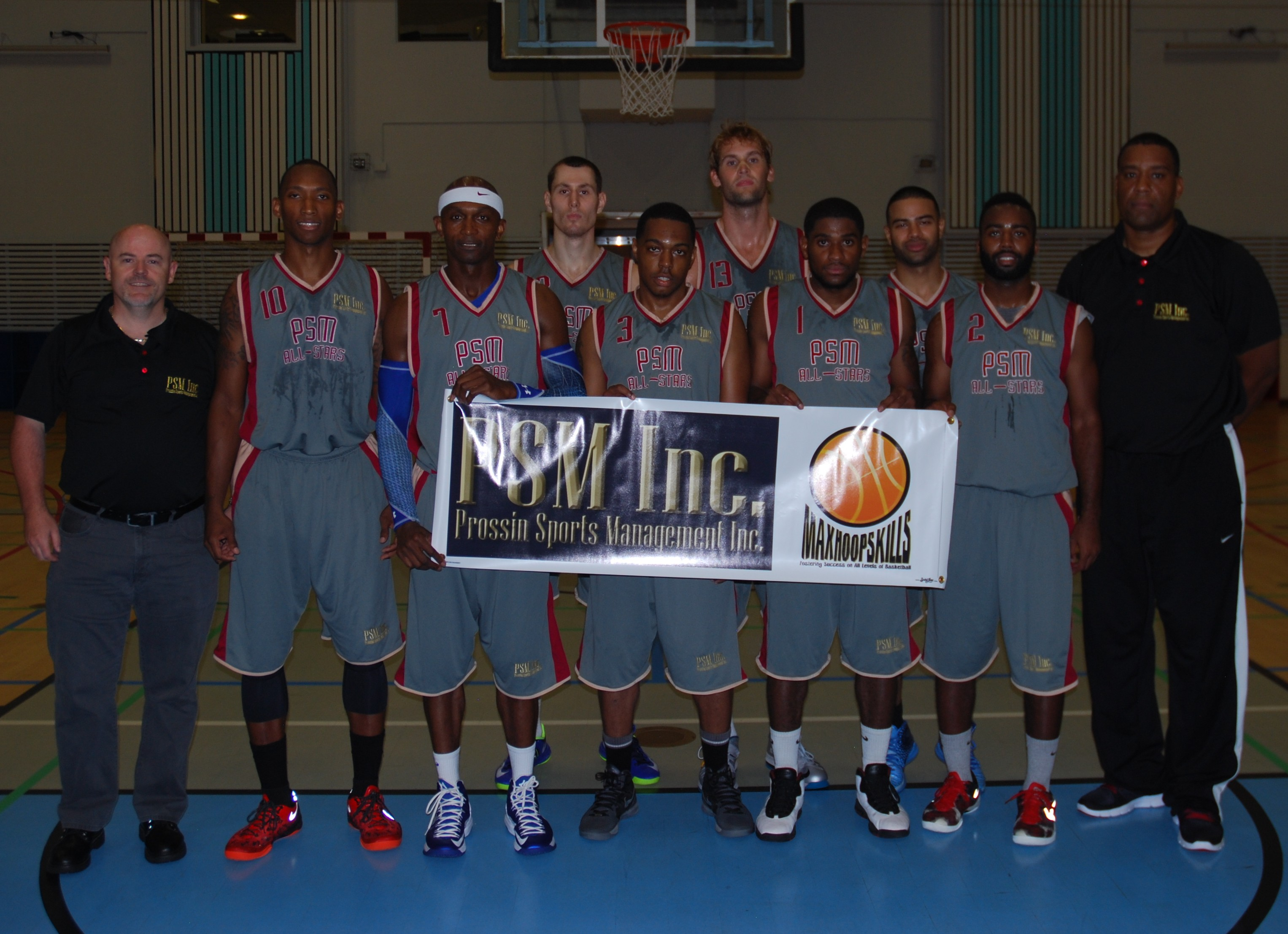 2013 Europe Summer League - PSM All-Stars