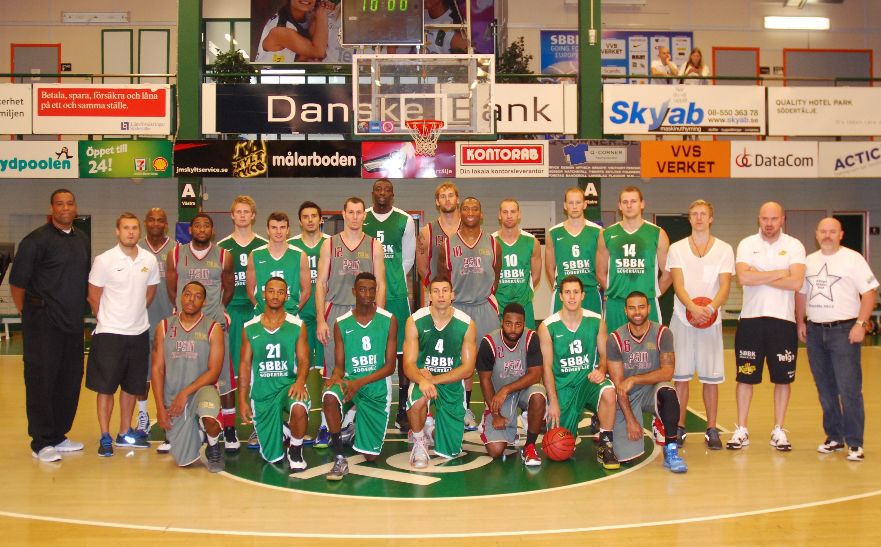 Sodeetalje Sweden & Europe Summer League Teams