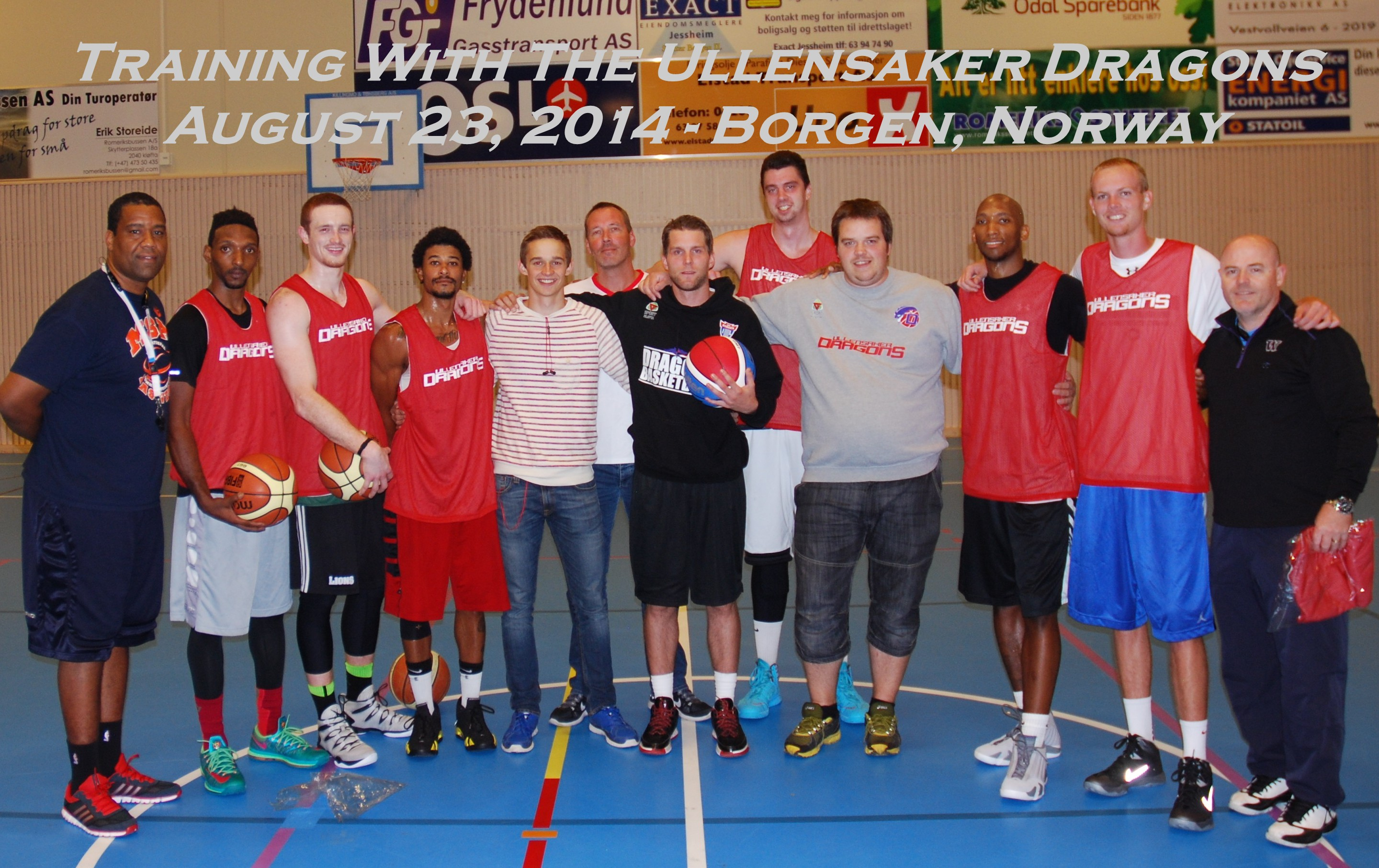 Training With The Ullensaker Dragons